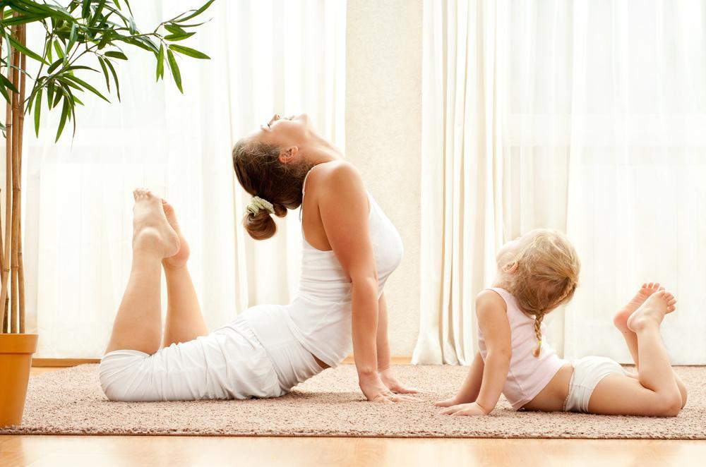 hvilken trening til nybakt mor