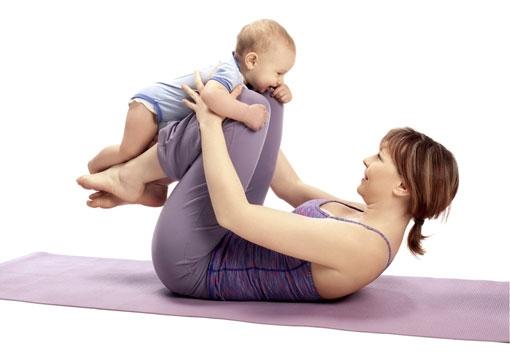 Pilates for mor og barn