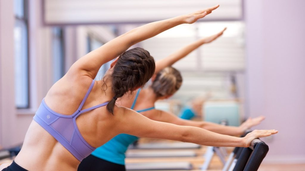 pilates trening