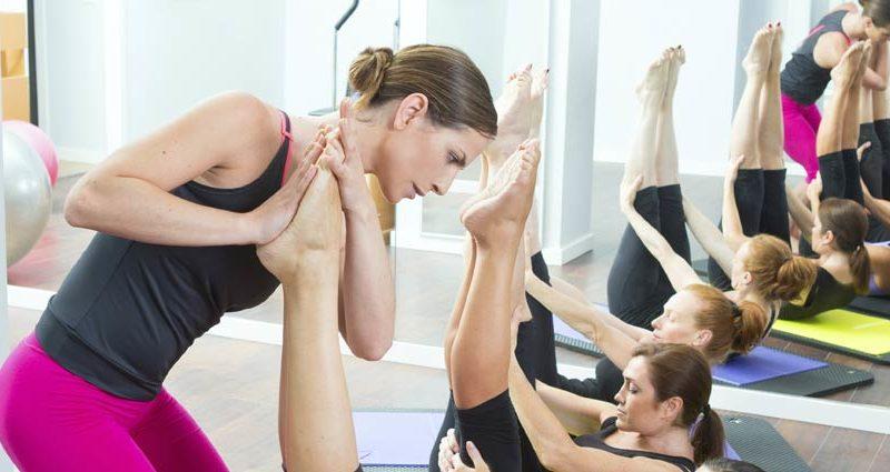Pilates trening i Sandvika