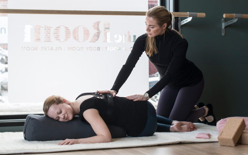 Yoga på The Room Skien